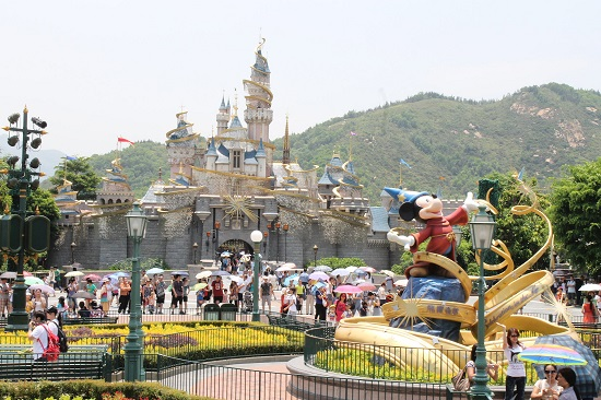 Disneyland-Hongkong