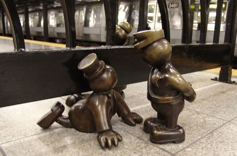 Tom-Otterness-Life-Underground-14th-Street1