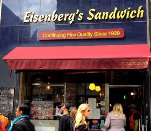 Eisenberg's opposite the Flatiron