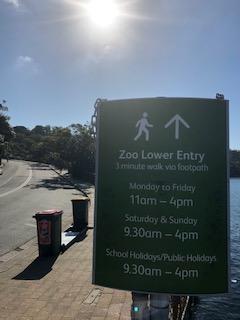 Taronga Zoo Ferry Wharf, Athol Wharf Road