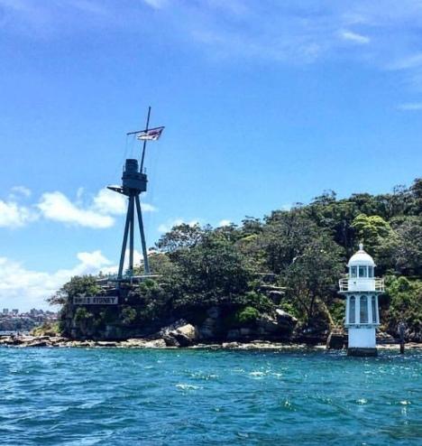HMAS Sydney mast