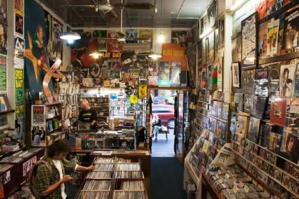 Inside Greville Records