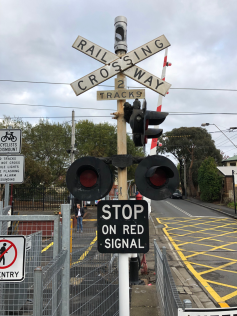 Prahran Railway Crossing