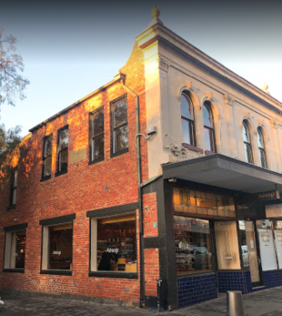 The old Kill City Bookstore