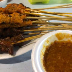Beef, Mutton and Chicken skewers