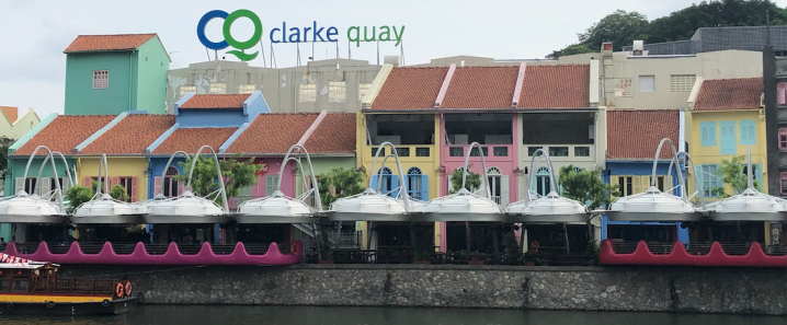 Clarke Quay by day