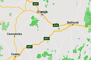 Bathurst-Cowra-Orange-Bathurst