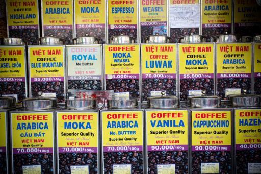 Ben Thanh Market coffee beans