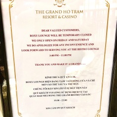 The Grand Ho Tram