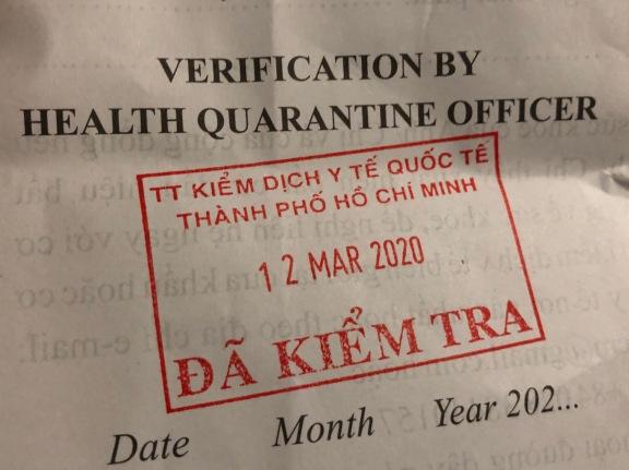 Health Verification