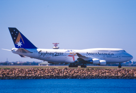 Ansett was the official airline of the 2000 Olympics
