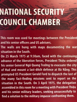 National Security Council Chamber