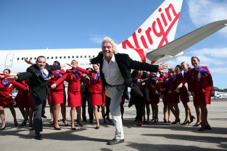 Richard Branson's Virgin still owns 10 per cent
