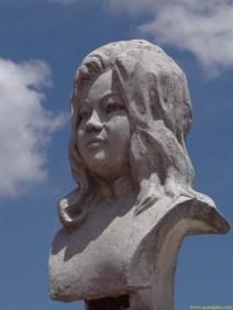 Bust of Quach Thi Trang