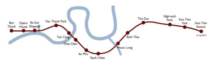 Ben Thanh-Suoi Tien line